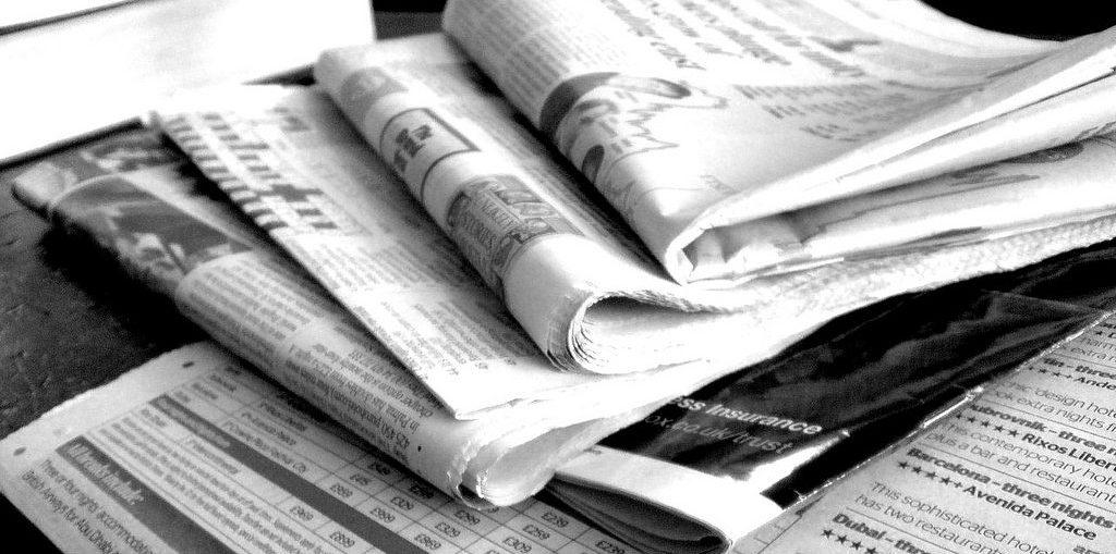 clipping em jornais